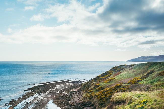 Scotland seaside view