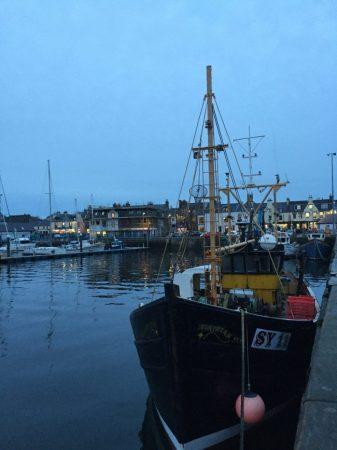Coastal Fishing Village Scotland