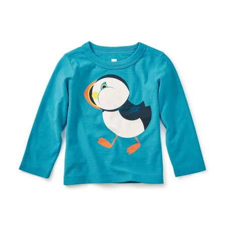 Globally Inspired Puffin Tee