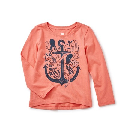 River Graphic Tee for Girl