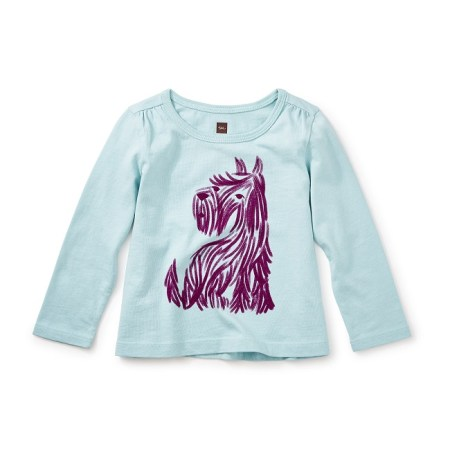 Scottie Dog Graphic Tee Baby Girl