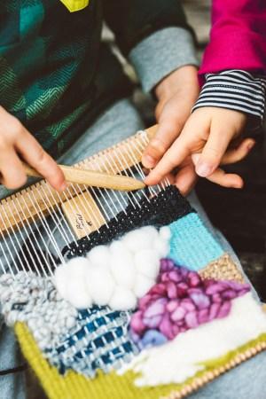 scottish hand weaving