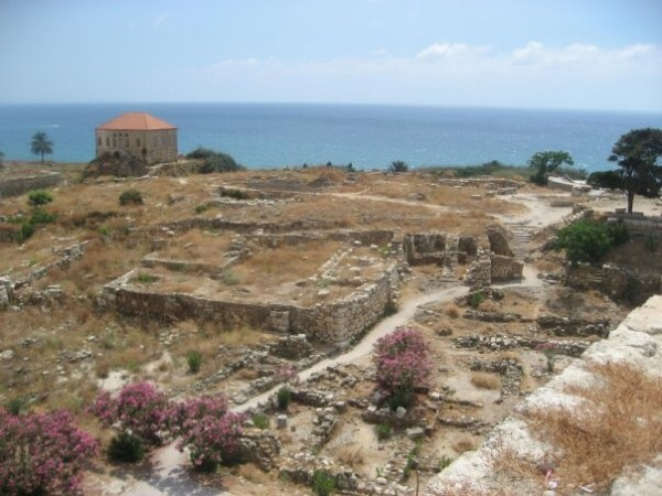 Byblos Ruins Lebanon