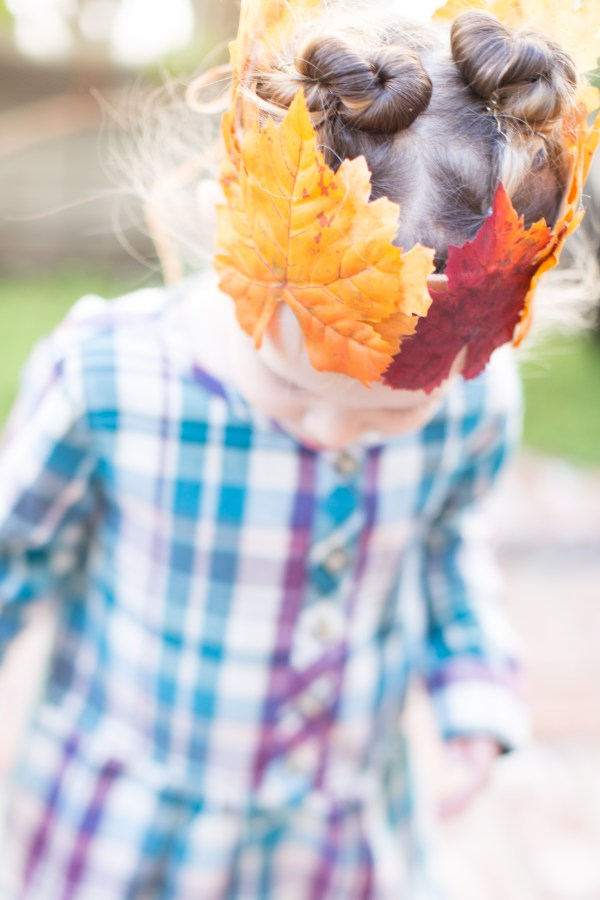 DIY Leaf Crown