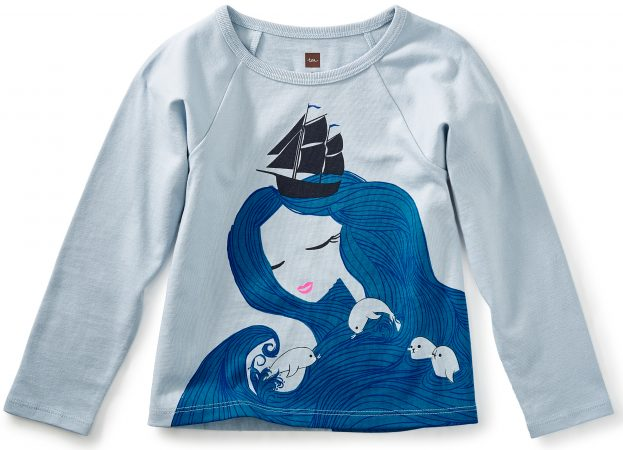 Girl Selkie Graphic Tee