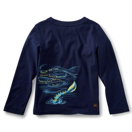 Boy Loch Ness Graphic Tee