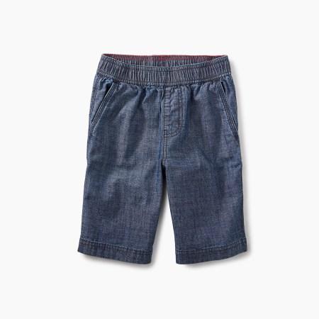 Boys Chambray Shorts