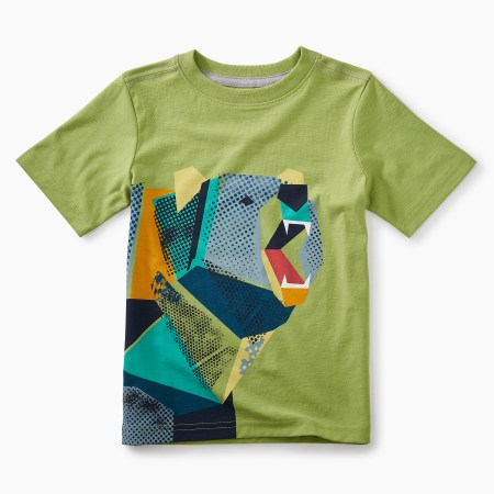 Boys Pop-art Bear Graphic Tee