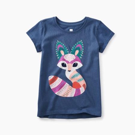 Girls Desert Fox Graphic Tee