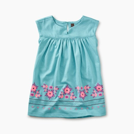 Graphic Empire Baby Dress