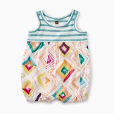 Baby Mixed Print Romper