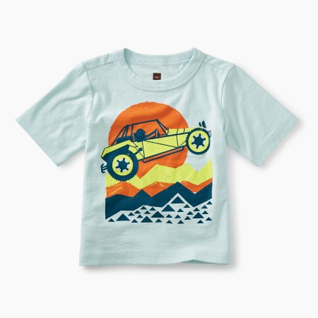 Dune Buggy Graphic Baby Tee