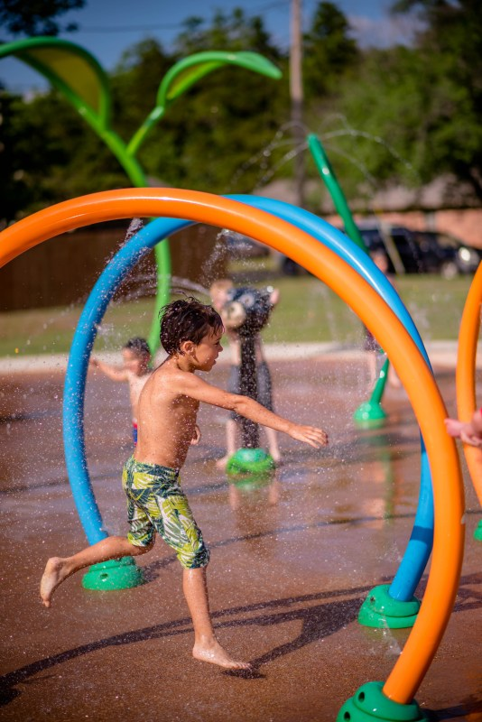 Southern Woods Splash Pad Stillwater