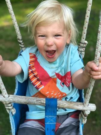 Walker Park Swings Camden Maine