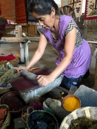Oaxacan artisan