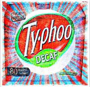 Tribute to Typhoo Decaf, one of the best decaf teas available.