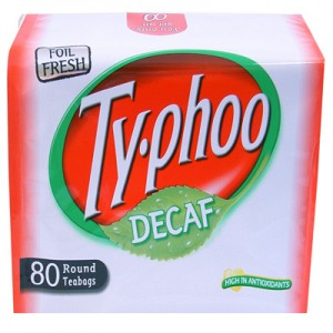 Typhoo Decaf Tea.
