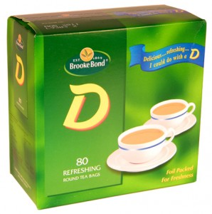 Brooke Bond D Tea