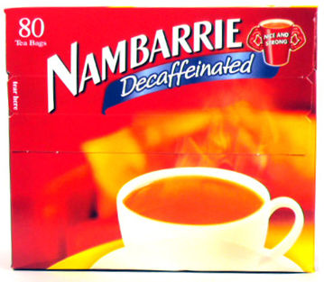 nambarrie decaf tea