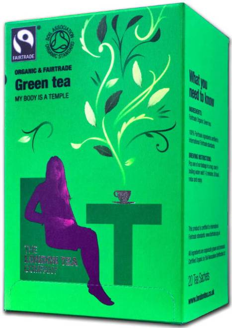 london tea company green tea