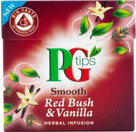 PG Tips Smooth Red Bush & Vanilla