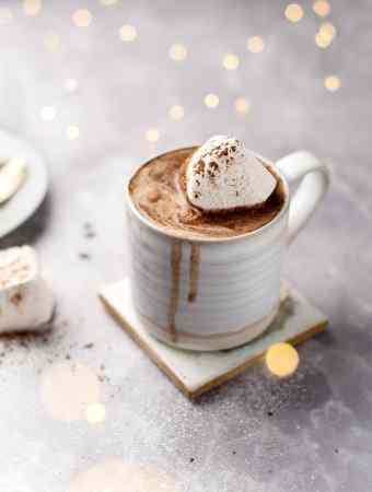 Earl Grey Hot Chocolate   Teak & Thyme