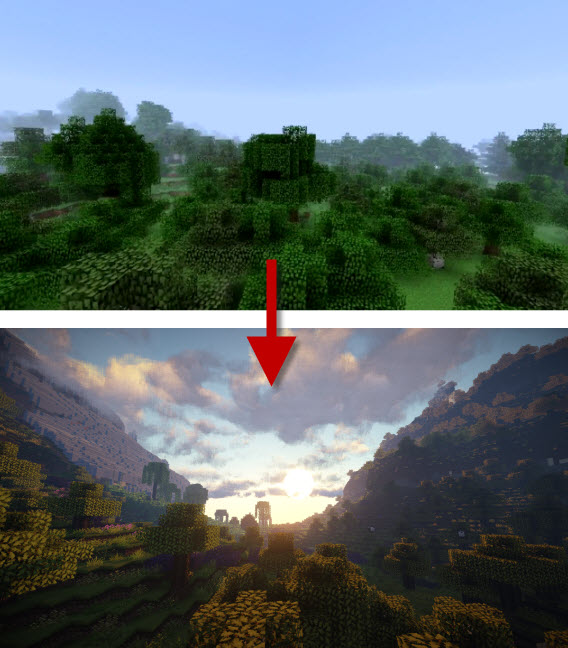 before-after-minecraft-seus-chrome-hills