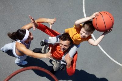 sporty family