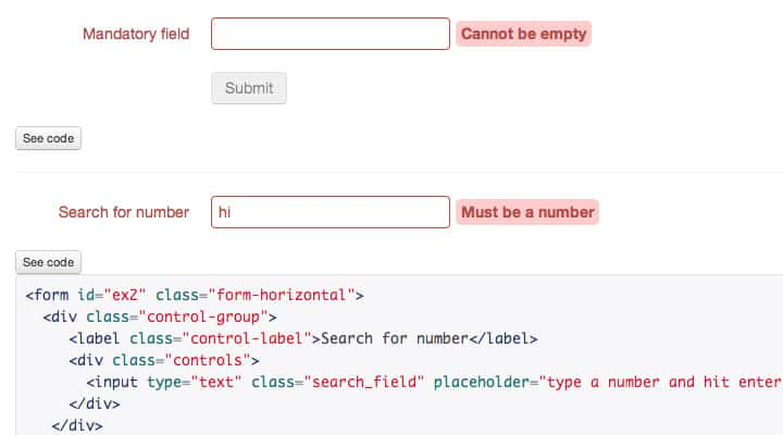 jquery nod plugin open source form validation preview