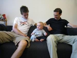 Duncan, Sam & Chris