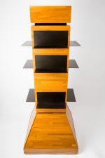 tebo store fixtures shoe shelf