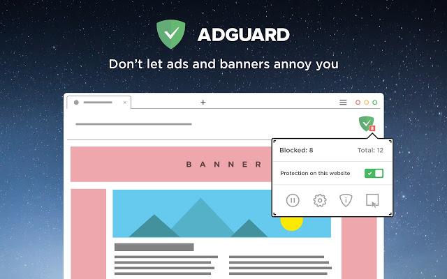 AdGuard Adblocker Extension