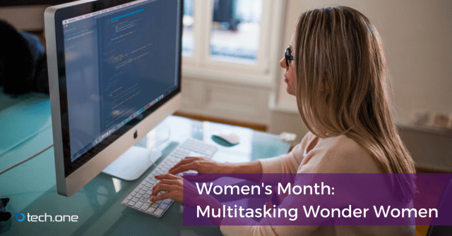 women's month multitasking workplace microsoft digital transformation