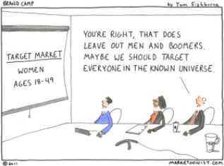 Startups need to focus on a small niche first