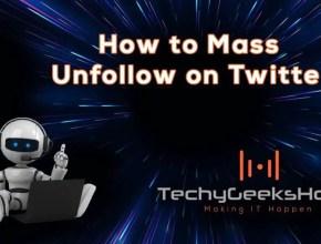 Twitter Mass Unfollow [2019 Updated]