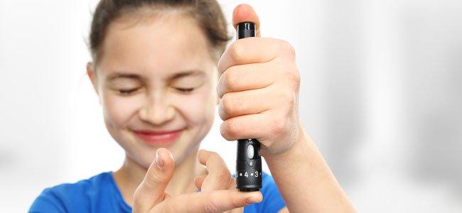 control de la diabetes en niños
