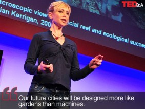 New TED Book envisions the 'living' cities of the future