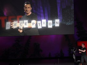 Real-life augmented reality: Marco Tempest at TED2012