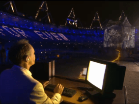 The London Olympics opening ceremony … in TED Talks