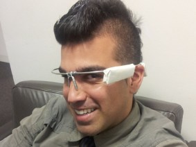 Talks collide at TEDYouth: Bobak Ferdowsi of NASA wears Google Glass