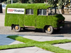 TEDxKraków's ultimate green driving machine
