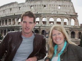 TED Fellow and space archaeologist Sarah Parcak heads to ancient Rome