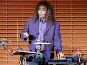 10 talks that involve highly unusual instruments