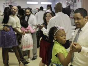 Meet the fathers and daughters who danced the night away in a prison