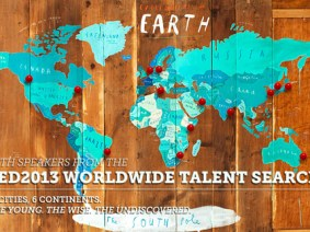 The TED2013 speakers found through our 14-city talent search