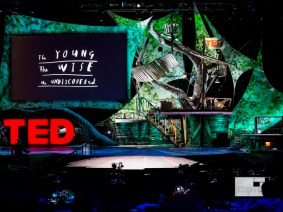 It's time for TED!: The stage revealed