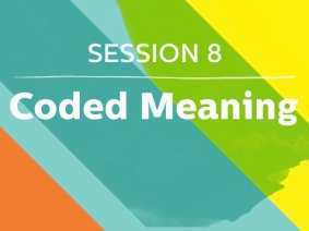 Coded Meaning: Speakers in Session 8 at TED2013