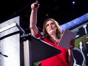 Manipulating electrons, playing with paper: Kate Stone at TED2013