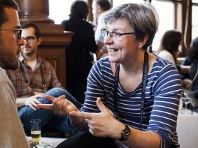 Meet the translator: Els De Keyser, who brings you talks in Dutch