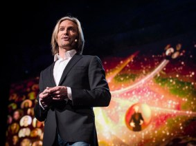 A choir live and online: Eric Whitacre at TED2013